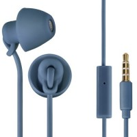 Thomson EAR3008OBL Kopfhörer Piccolino, In-Ear, Mikrofon, ultraleicht, Blau