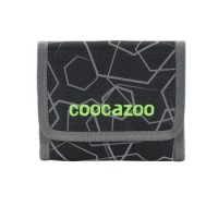 coocazoo Geldbeutel CashDash, Laserreflect Solar-Green