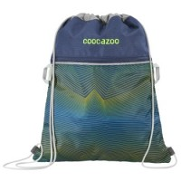 coocazoo Sportbeutel RocketPocket2, Soniclights Green