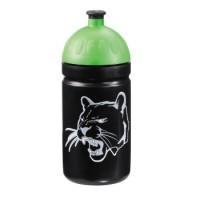 Step by Step Trinkflasche Wild Cat, Schwarz