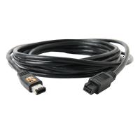 TetherPro FireWire 800/400 - 9/6 Pin - 4.6m black