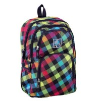 All Out Rucksack Kilkenny, Rainbow Check