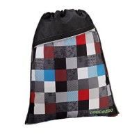 Coocazoo Sportbeutel RocketPocket, Checkmate Blue Red