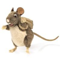 Folkmanis Handpuppe Ratte die sammelt