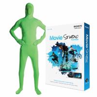 Savage Green Screen Medium Suit Kit