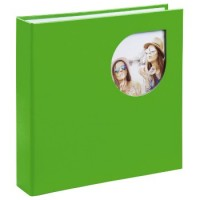 Hama Memo-Album Cumbia, für 200 Fotos im Format 10x15 cm, Jasmine Green