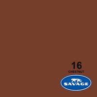Savage Hintergrundpapier Chestnut 2.72x11m