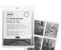 Adox Negativhüllen für 4 Negative 4x5inch, 100 Blatt
