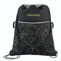 coocazoo Turnbeutel RocketPocket2, Laserbeam Black