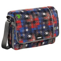 coocazoo Schultertasche HangDang, Dope Square Red