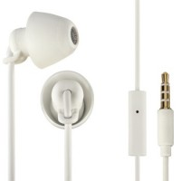 Thomson EAR3008W Kopfhörer Piccolino, In-Ear, Mikrofon, ultraleicht, Weiß