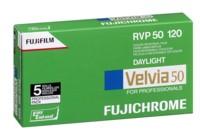 Fujifilm Velvia 50 Pro 120 5er