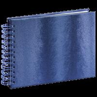 Hama Spiral-Album Tango, 24 x 17 cm, 50 weiße Seiten, Blau