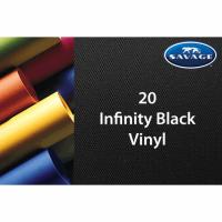 Savage Vinyl Hintergrund 1.52 x 2.13 m infinity schwarz