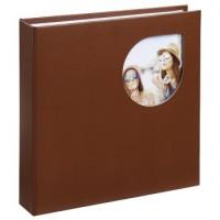 Hama Memo-Album Cumbia, für 200 Fotos im Format 10x15 cm, Cherry Mahogany