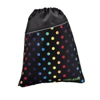 Coocazoo Sportbeutel RocketPocket, Magic Polka Colorful