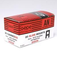 Gepe Diarahmen mit Glas, 3 mm, 24x36 mm, 20 Stück