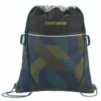 coocazoo Sportbeutel RocketPocket2, Polygon Bricks