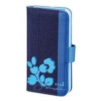 aha: aha: Booklet Diary für Apple iPhone 4/4S, Navy